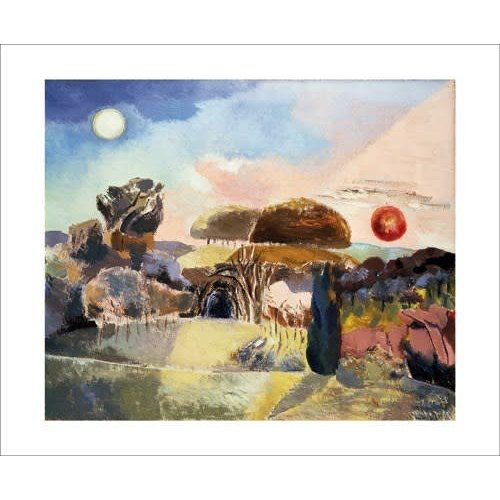 Art Angels Landscape of the Vernal Equinox by Paul Nash