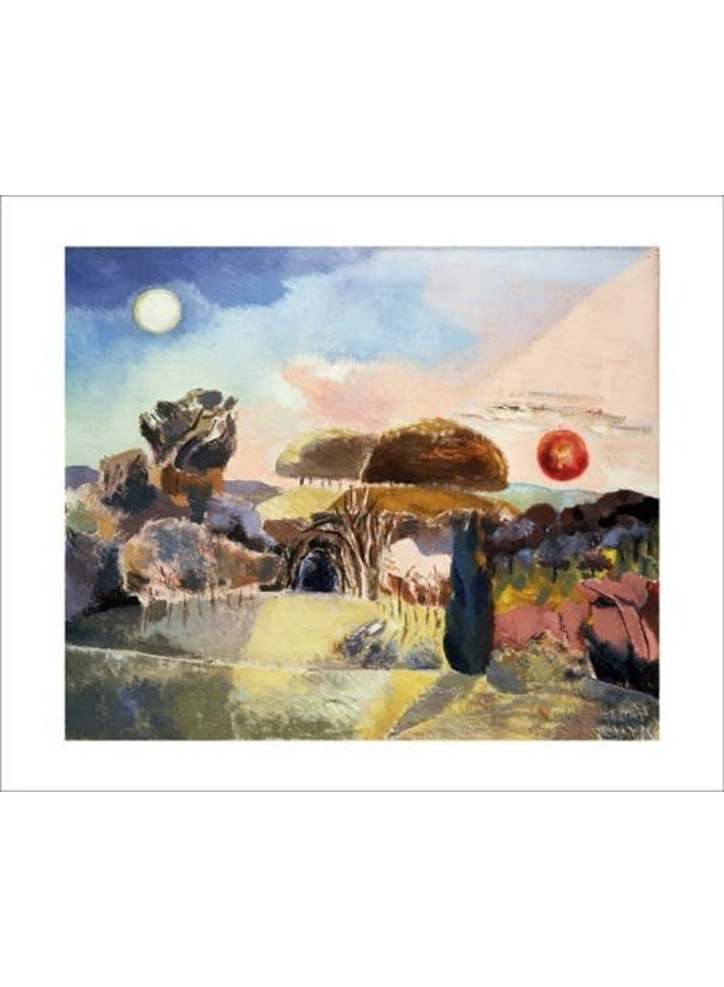 Landscape of the Vernal Equinox by Paul Nash