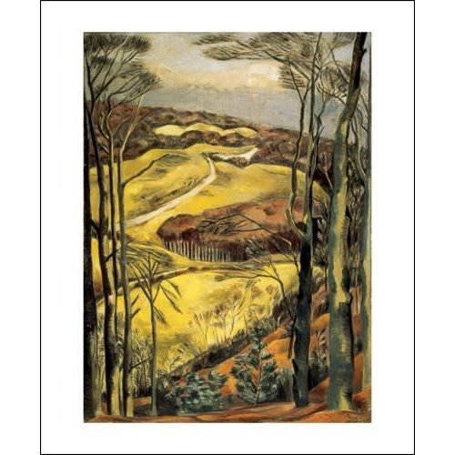 Art Angels Berkshire Downs by Paul Nash