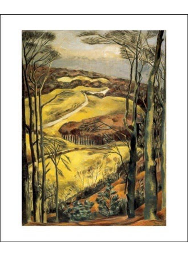 Berkshire Downs by Paul Nash
