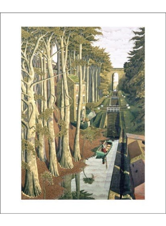 View from a Canal Bridge by Simon Palmer