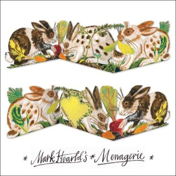 Rabbit 3 fold Mark Hearld