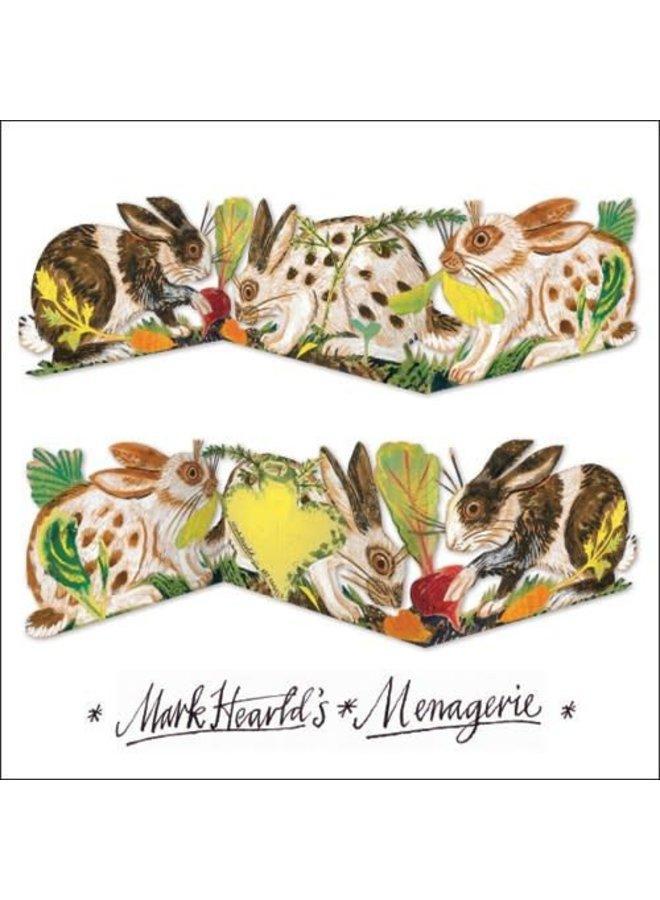 Kaninchen 3-fach Mark Hearld