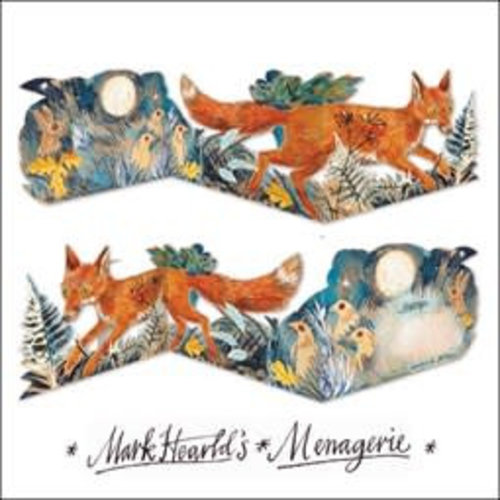 Art Angels Fox 3 fold Mark Hearld