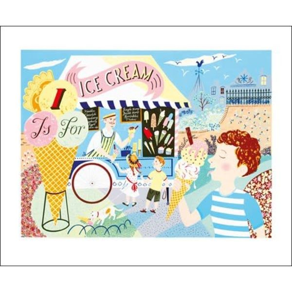 1 is fo Ice Cream  Card Emily Sutton