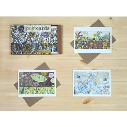 Art Angels Assorted postcards by Angie Lewin