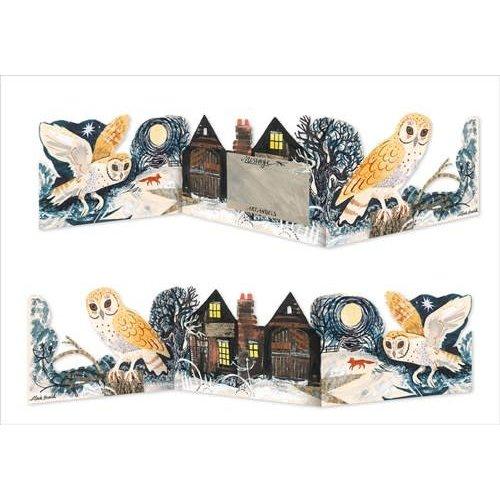 Art Angels Barn Owl 3 fold Mark Hearld