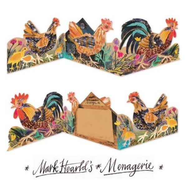 Cockeral 3 fold Mark Hearld