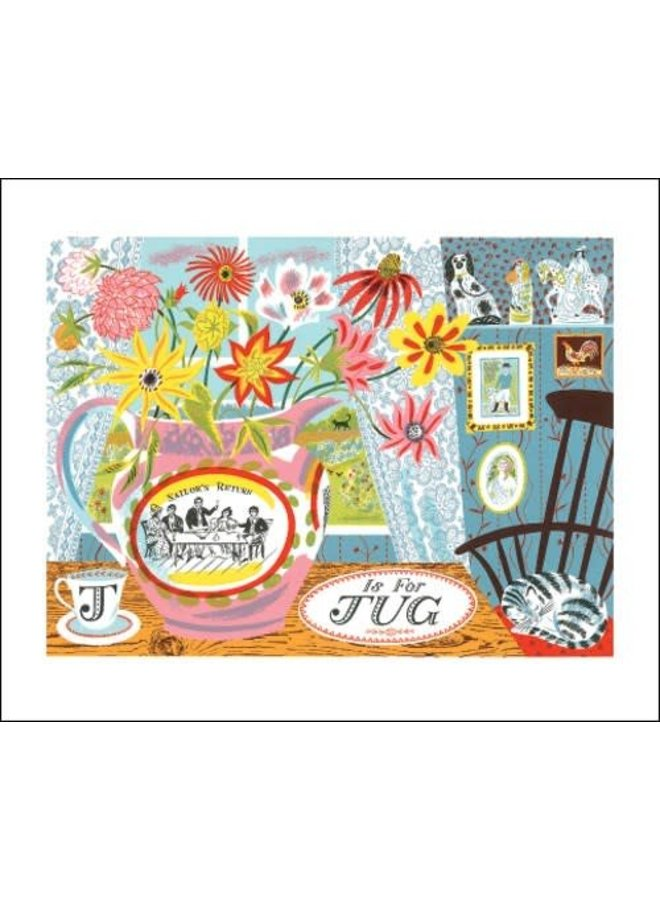 J is forJug Card Emily Sutton