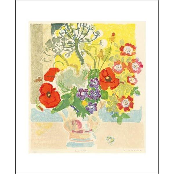 June Wildflowers card by Matt Underwood