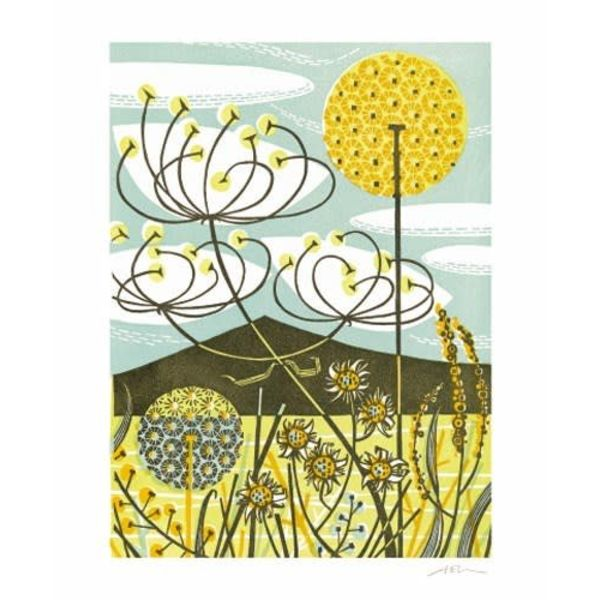 Scarista card by Angie Lewin