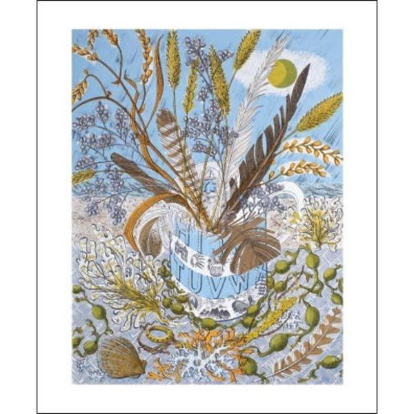 Shoreline card by Angie Lewin