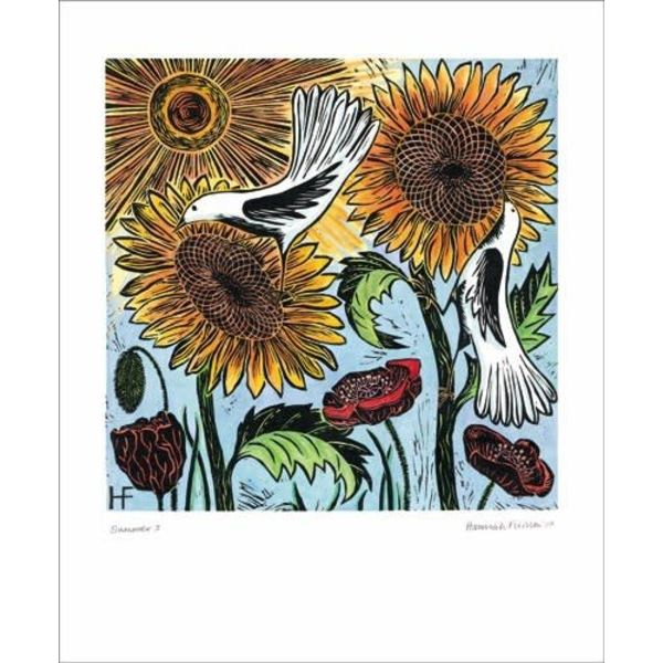 Summer card by Hannah Firmin
