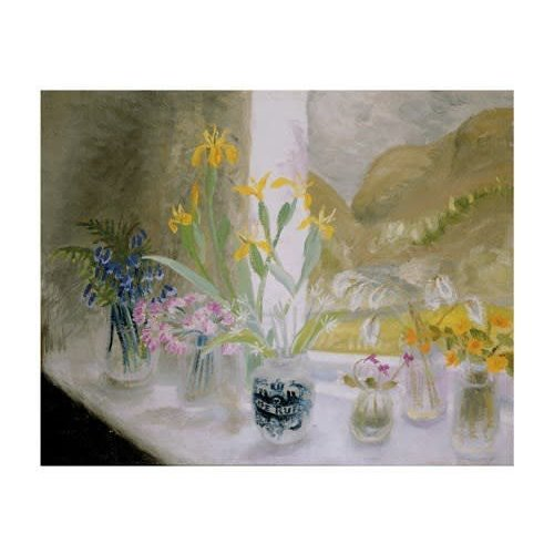 Art Angels Wild Flower Window Sill by Winifred Nicholson