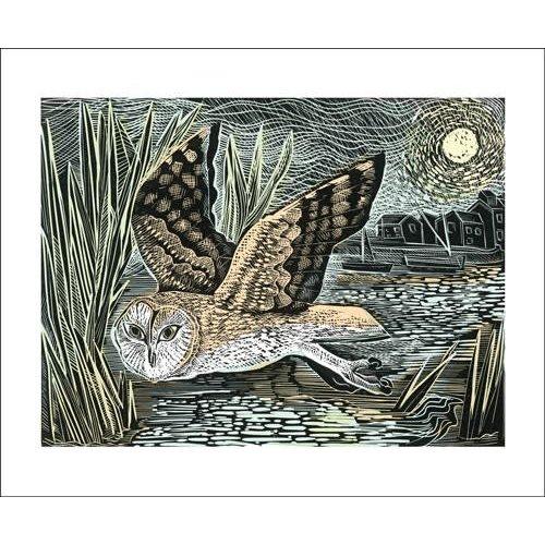 Art Angels Marsh Owl by Angela Harding