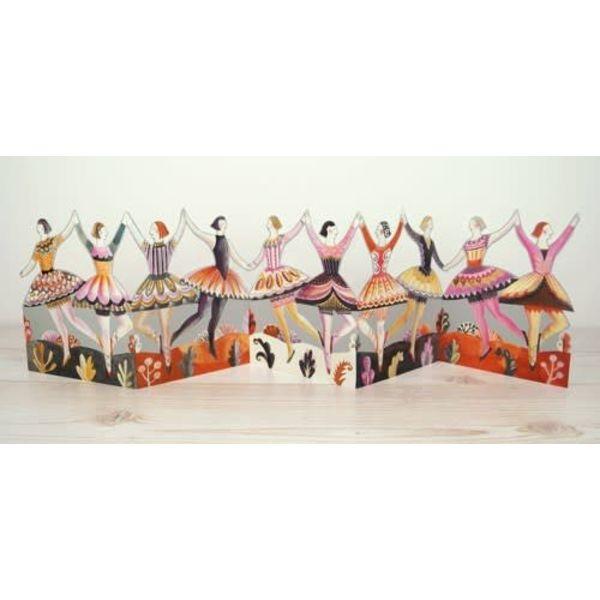 Bailarines tarjeta 3D de Sarah Young