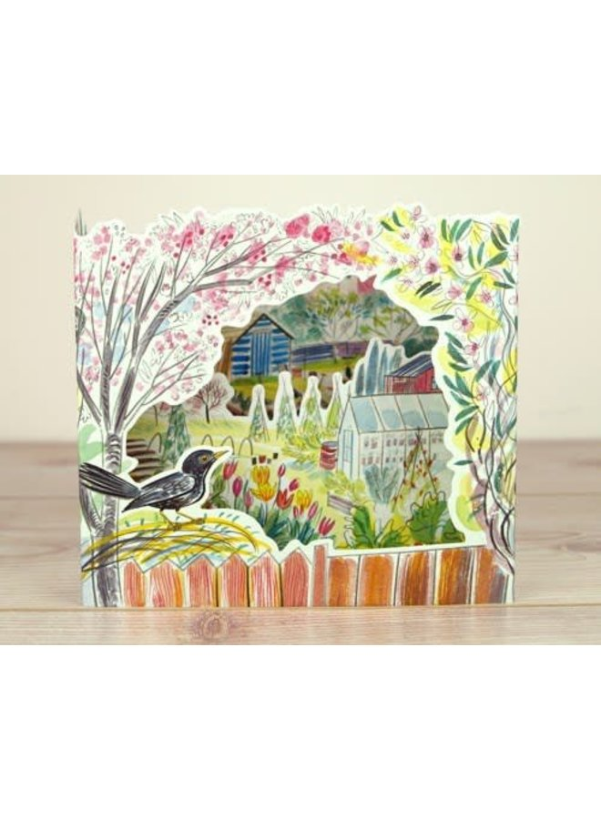 Copy of Dancers 3D card by Sarah Young