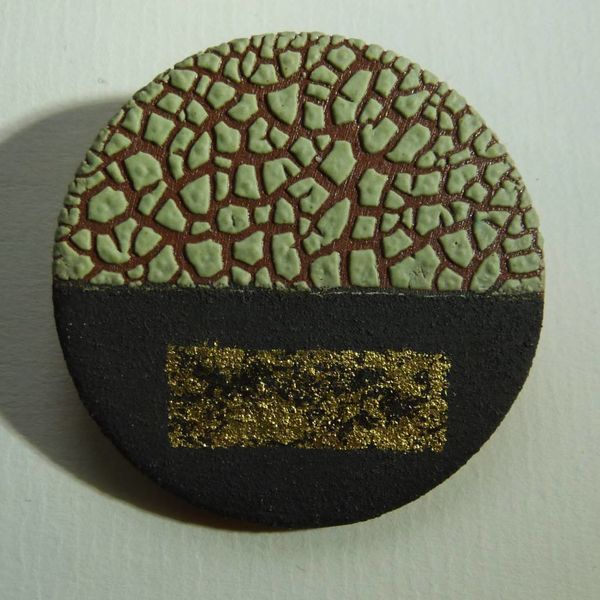 Ceramic Brooch