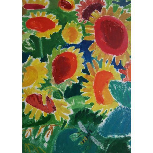 Sonnenblume Parade