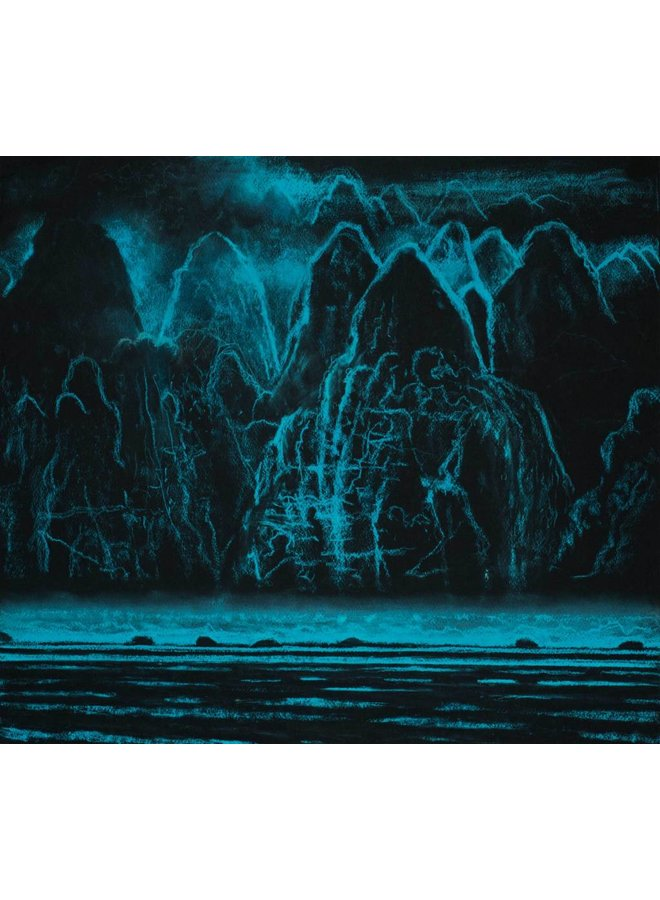 Copy of Blue Meridian, The Road'  Pastel 54 x 48 cm