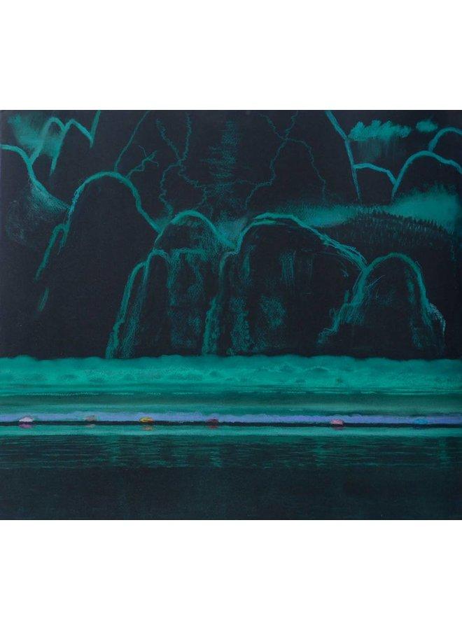 Green Meridian, The Road' 54 x 48 cm