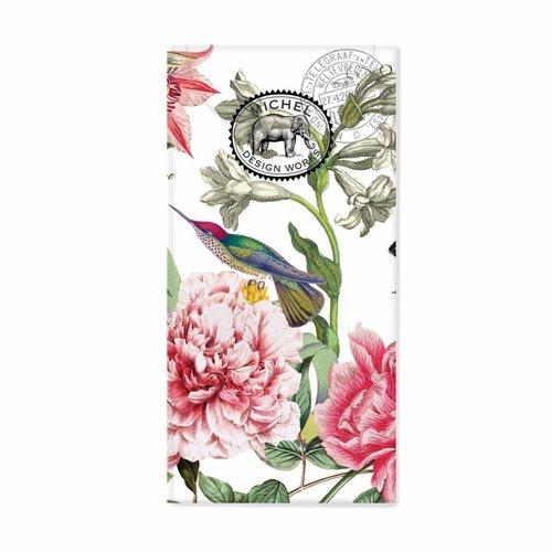 Michel Design Works Peony 10 pañuelos de papel de bolsillo