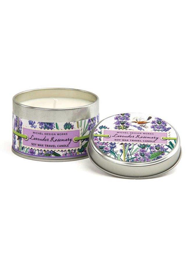 Lavendel Rosmarin Reisekerze
