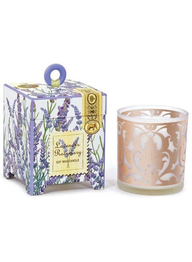 Lavendel-Rosmarin 6,5 oz. Soja-Wachskerze