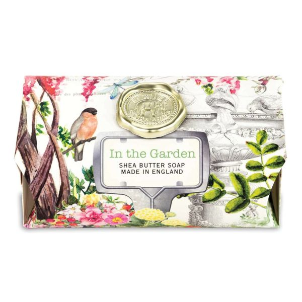 In The Garden  Large Soap Bar