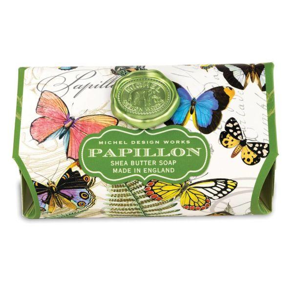 Barra de jabón grande Papillon