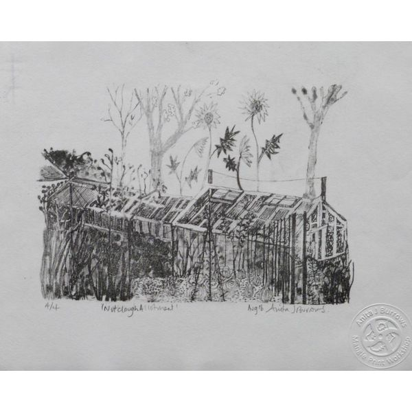 Nutclough Allotment- Lithograph