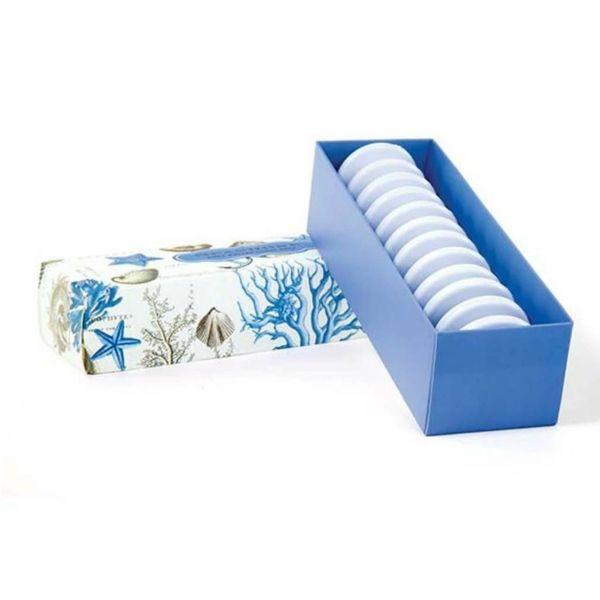Set de jabón de karité azul 12