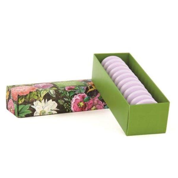 Jardín botánico 12 Shea Soap Set