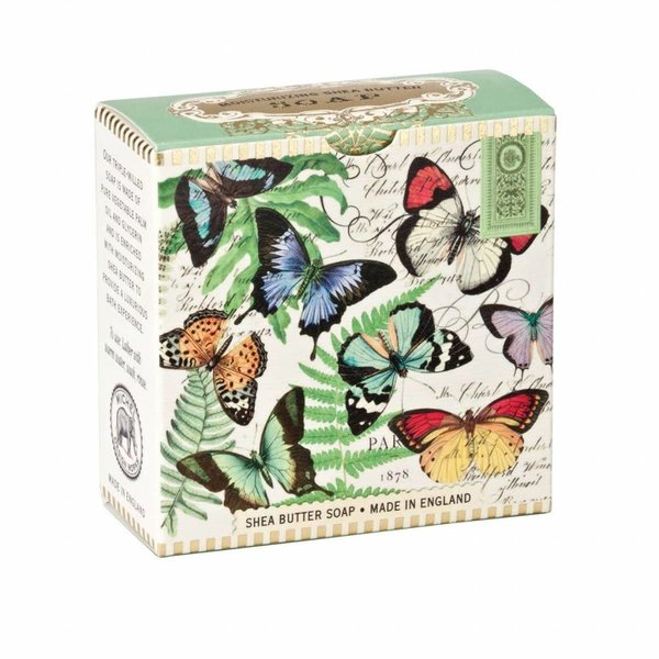 Mariposas poco jabón de karité