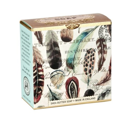 Michel Design Works Feathers Little Shea Soap