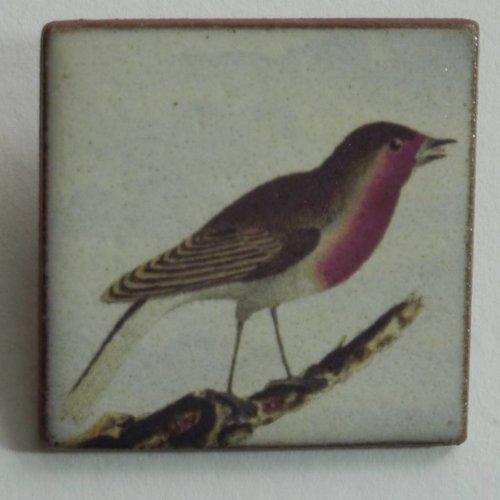 Stockwell Ceramics Copy of Heritage Barn Owl  brooch