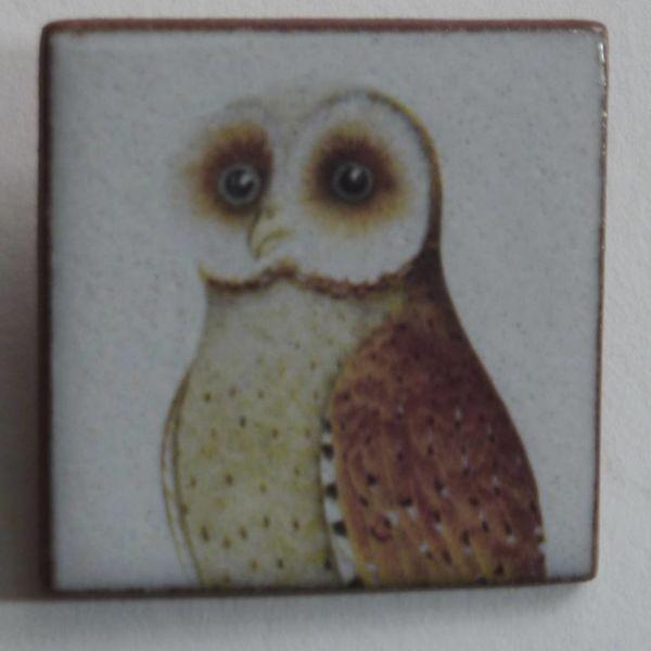 Heritage Brown Owl brooch