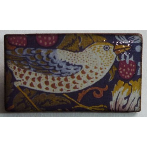 Stockwell Ceramics Copy of Orange elephant brooch