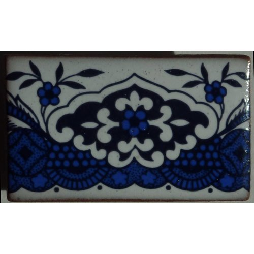 Stockwell Ceramics Copy of Willow pattern bridge brooch