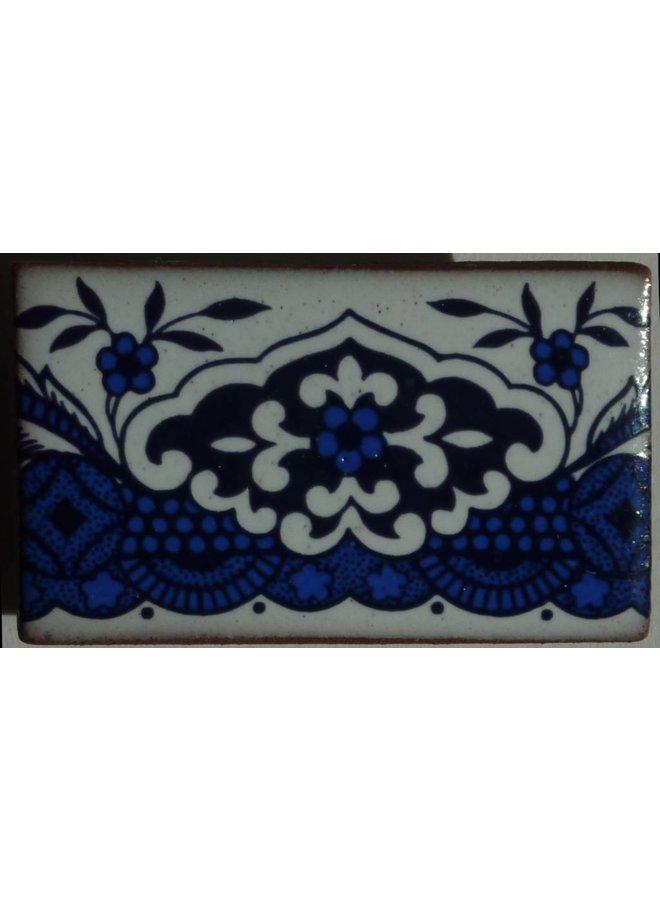 Copy of Willow pattern bridge brooch