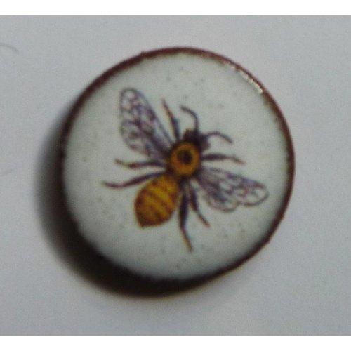 Stockwell Ceramics Bee stud earrings
