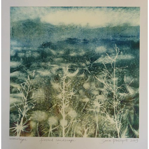 Sara Philpott Frosted Landscape