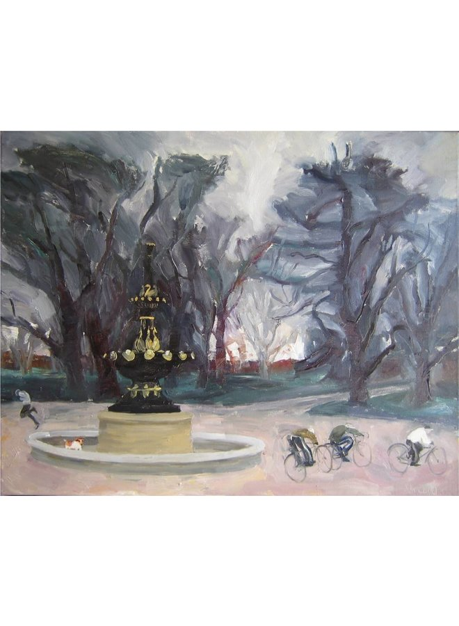 Fountain in Winter