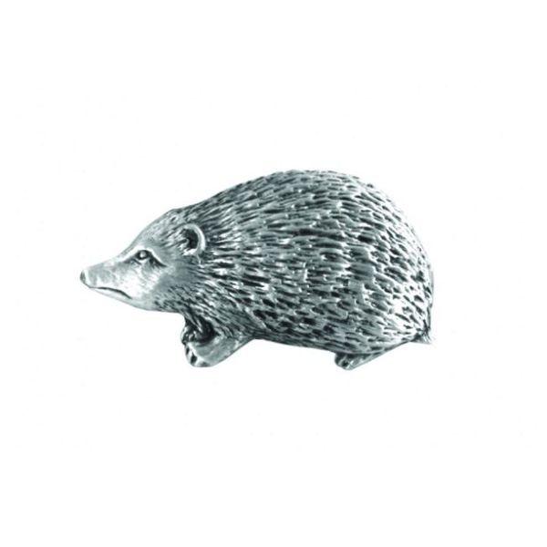 Hedgehog lapel pin