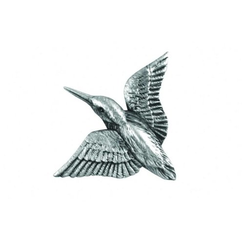 A E Williams Kingfisher Diving lapel pin