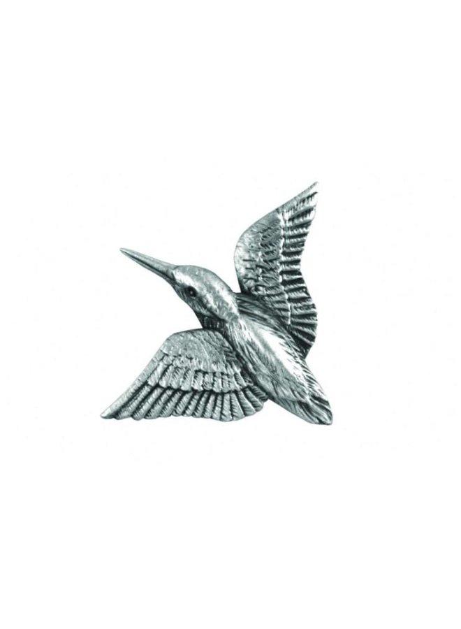 Kingfisher Diving lapel pin
