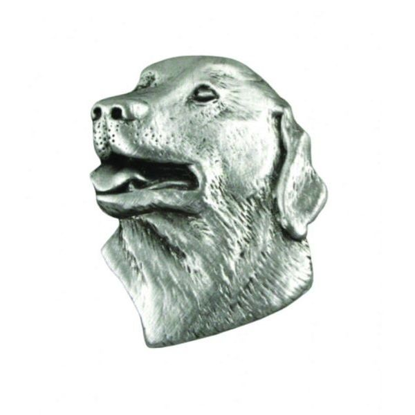Labrador Head lapel pin