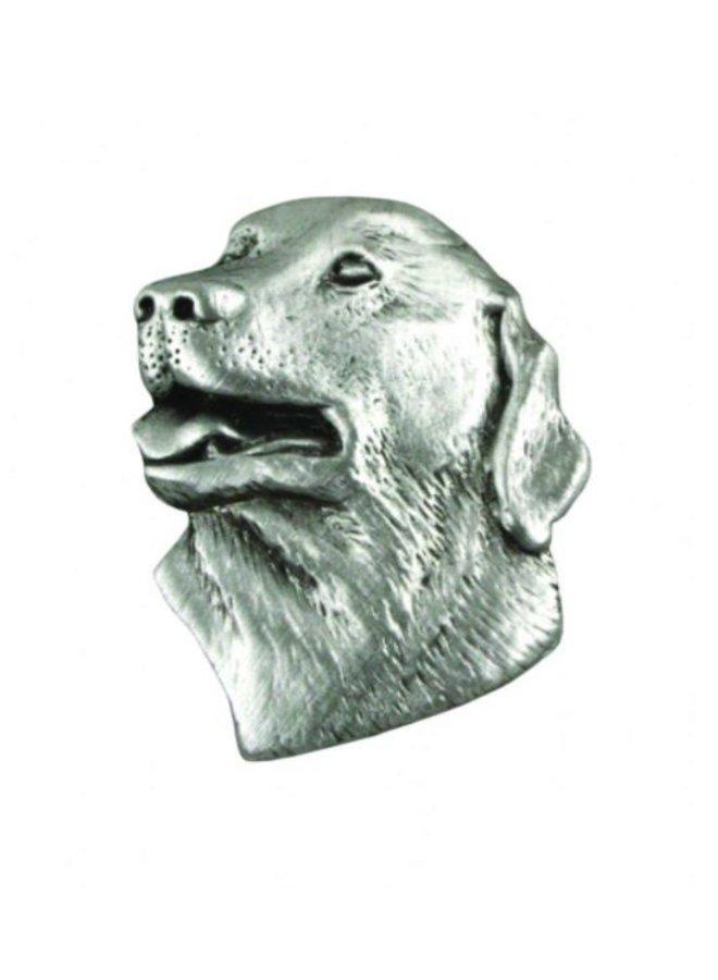 Labrador Head lapel pin