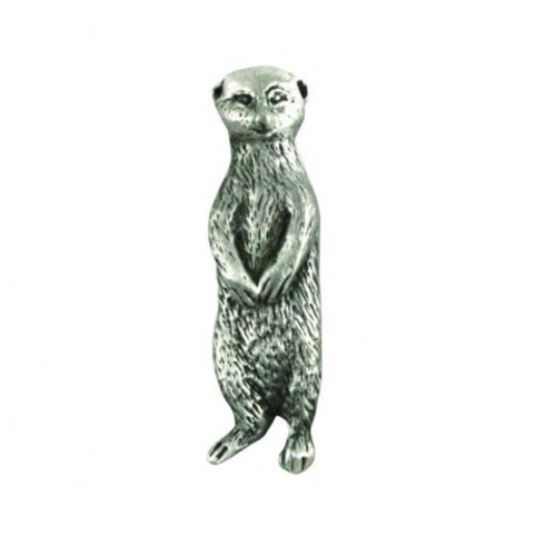 A E Williams Meerkat lapel pin