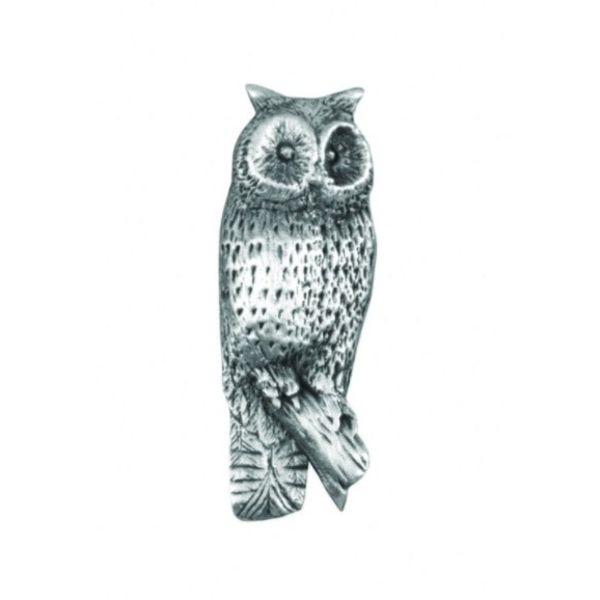 Owl Standing lapel pin